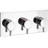 Design Thermostatic Shower Valve 3 Control LAnd rectangle