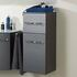 6001 Solitaire 1 Drawer 1 Door Wall Hung Bathroom Storage Unit