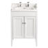 Classic Vanity Unit & Dorchester Basin White Ash curved Designer Bathroom