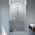 Matki Shower Enclosure Irt800 Gg IllusIon Recess With Tray Fashionable Bathroom