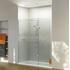 NWSR1780TB Stylish Bathroom Walk In Shower Enclosure
