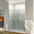 NWSR1790TBH Stylish Design Walk In Shower Enclosure in Celtic Silver Finish