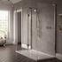 NWST1290TBH Boutique Walk In Shower Enclosure Designed for Modern Bathroom