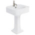 Arcade 600mm Basin And Pedestal - 9946