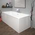ACRYLIC BATH PANEL WHITE