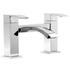 stylish Modern CHROME Bath Filler  With a featured Standard spout And a lever Handle