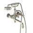 Arcade  Bath Shower Mixer Wall-Mounted Designer cross head spout Shower Taps