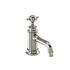 Traditional NICKEL standard 3 Hole Basin Mixer Taps With a cross head Handle