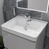 Grey Bathroom Furniture with storage and deep basin