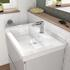 bathroom furniture vanity unit with large basin