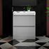 Grey Bathroom Furniture with Storage