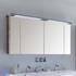 Balto 1200 Mirror Medicine Cabinet 4 Door Including Light Canopy and Shaver Socket