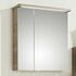 Balto Bathroom Mirror Medicine Cabinet 2 Doors Including Shaver Socket