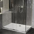 Room scene showing low profile anti-slip shower tray, all sizes