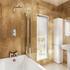 Bath Screen With Panel 85cm X 145cm High Quality
