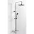 BC Deluxe Exposed Thermostatic Bathroom Shower Riser Rail Kit