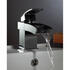 Modern quality CHROME waterfall Basin tap With a lever Handle