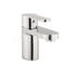Modern quality CHROME standard Basin tap With a lever Handle