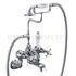 """Claremont Bath shower mixer wall mounted with """"S"""" adjuster"""