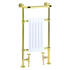 Clifton Baby Htr Vintage Gold Modern Bathroom Designer Towel Rail