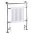 Clifton Heated Towel Rail Chrome Modern Bathroom Designer Towel Rail