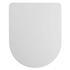 D Shape Soft Close Top Fix Toilet Seat Ergonomic and Fully Adjustable Bathroom Accessory