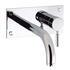 Design Basin Set With 21cm Spout Wall Mounted Taps lever spout Bathroom