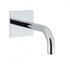 Design Bath Spout 160mm Wall Mounted Fashionable lever spout Bath Taps