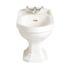Dorchester White Standard Toilet Bidet Curved Traditional Bathroom Shape