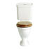 Dorchester White Comfort Height Pan and Cistern Curved Design Contemporary Bathroom Toilet