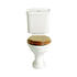 Dorchester White Traditional and Elegant Close Coupled Bathroom Toilet Pan And Portrait Cistern
