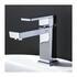 Modern Designer SILVER standard Basin tap With a lever Handle