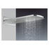 Fixed Hds Elite Overhead Shower Unique Waterfall, Rectangle Head