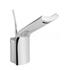 Modern contemporary CHROME waterfall Basin tap With a lever Handle