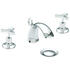 luxurious Traditional 3 tap hole Basin tap
