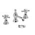 quality Traditional 3 tap hole Basin tap