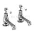 "Kensington Basin tap 5"" pair of crosshead taps"