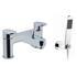 deluxe Modern CHROME standard Bath Shower Mixer Taps lever Handle