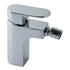 Mono Bidet Mixer Single Lever Deck Mounted Smooth Bodied Without Pop-up Waste