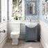 tradiational styled cloakroom set