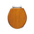 Oval Toilet Seat With Standard Chrome Hinges - 2148