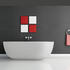 Ovali 1780 X 950 X 560 Freestanding Designer Luxury Rectangle Bath