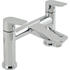 stunning Modern CHROME Bath Taps With a featured Standard spout And a lever Handle
