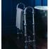 Pitea Heathed Clothes Horse With Traditional Chrome Radiator Valves (Pair) Chrome Modern Bathroom Designer Towel Rail
