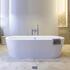 Plazia 1780 X 800 X 540 Freestanding Luxury Round Bath