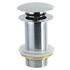 Push Button Unslotted Basin Waste round