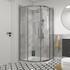 quadrant shower cubicle