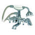 Rhine Traditional Deck Mounted Bath Shower Mixer - 179307