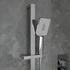 ribble chrome squared shower slider