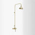 Ryde Single Control Exposed Shower Mini Valve, Vintage Gold, Round Head